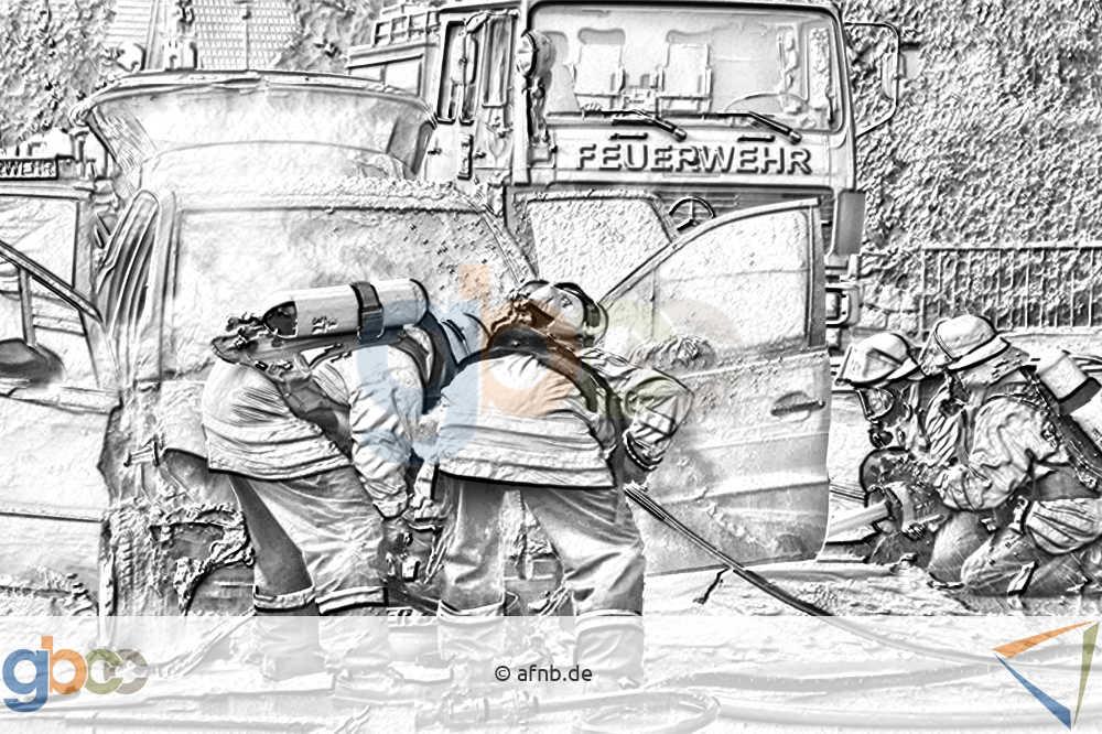 Emotionen: Feuerwehrmänner bei der Arbeit