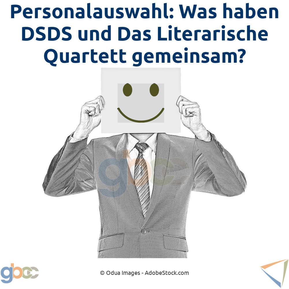 Personalauswahl: Was haben DSDS und Das Literarische Quartett gemeinsam?