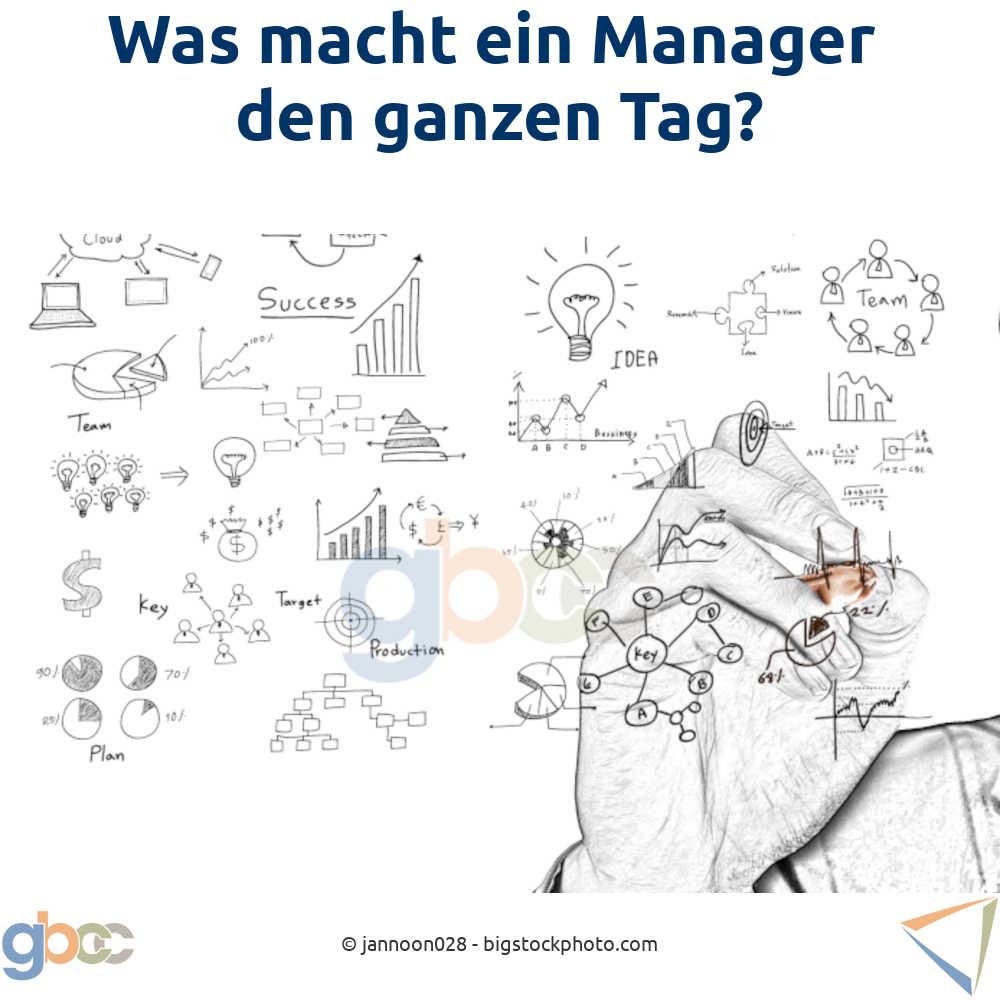 Was macht ein Manager den ganzen Tag?