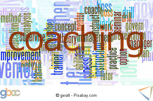 Coaching Begriffswolke