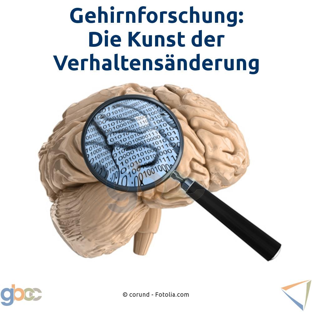 Gehirnforschung: Die Kunst der Verhaltensänderung