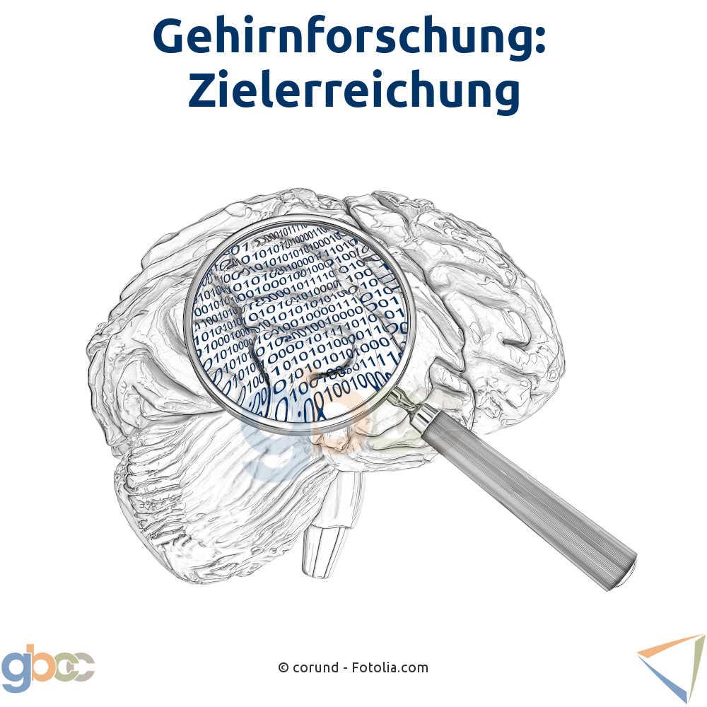 Gehirnforschung: Zielerreichung
