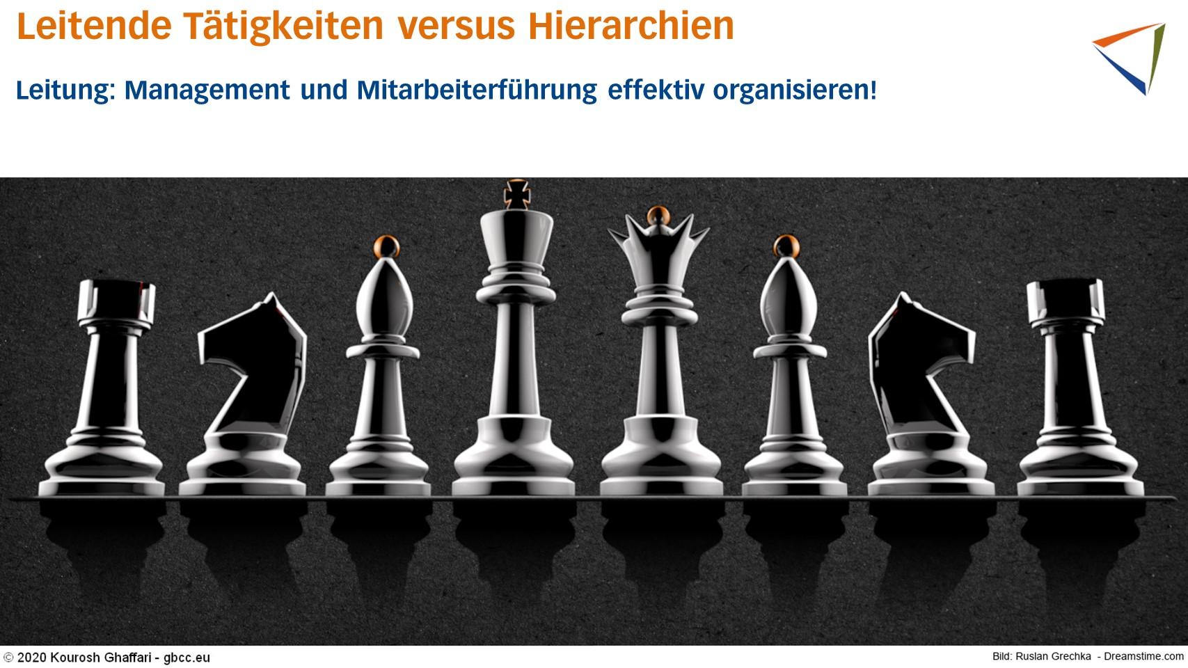 Leitende Tätigkeiten braucht jedes Unternehmen – aber nicht zwingend Hierarchien!